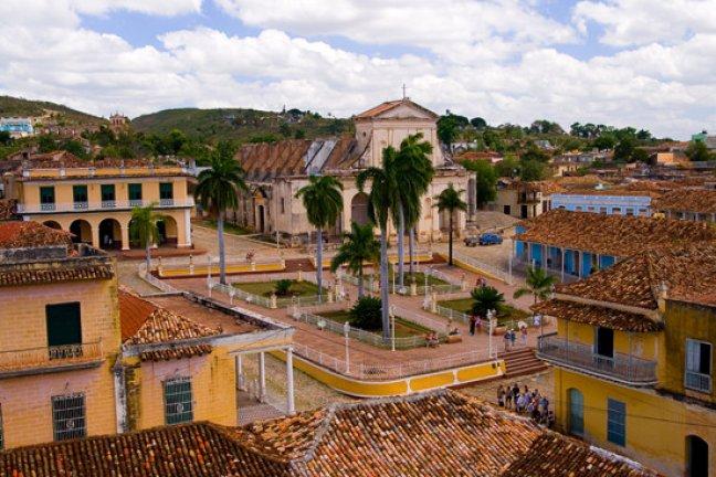 View on Trinidad