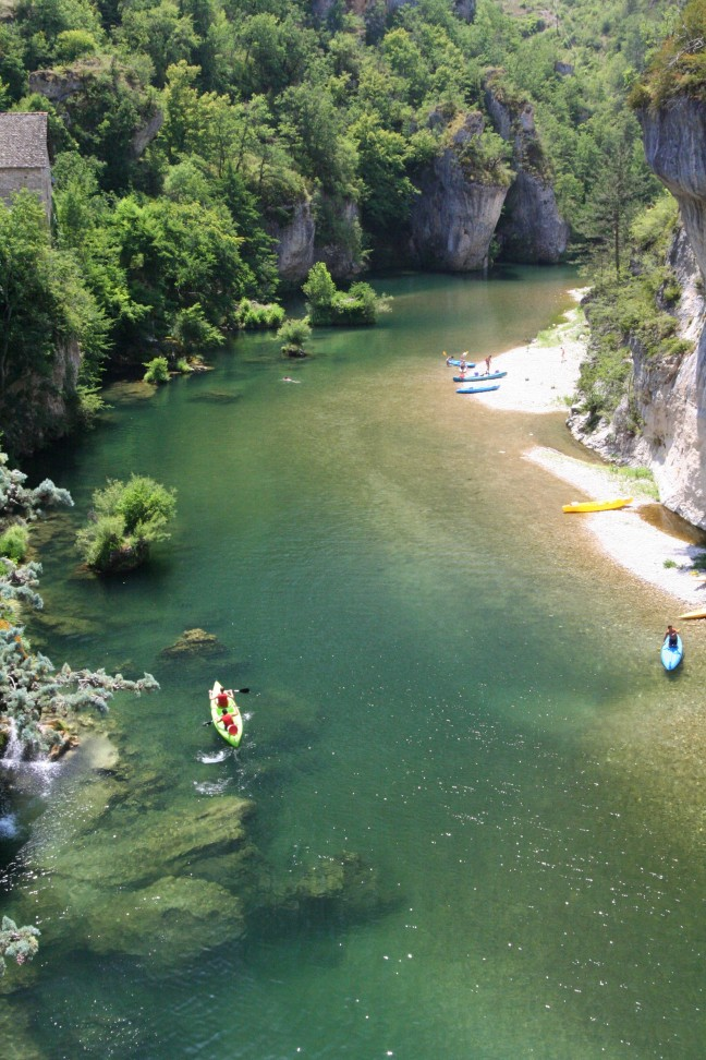 De rivier de Tarn