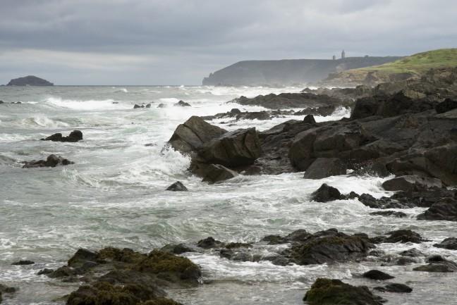 Wind aan Bretonse kust