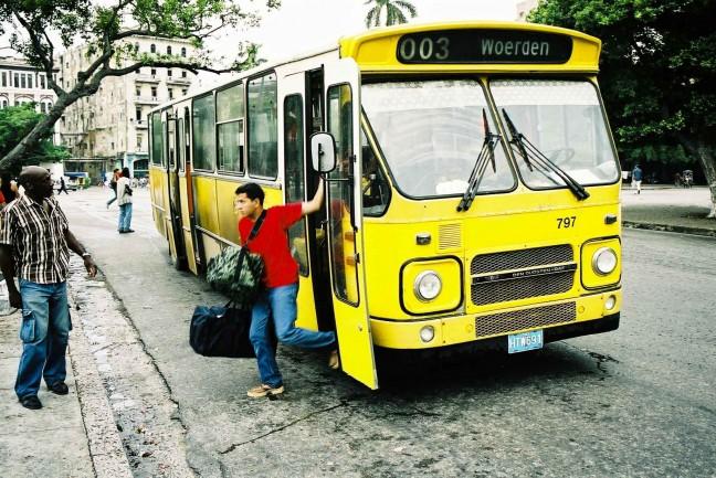 De bus naar Woerden