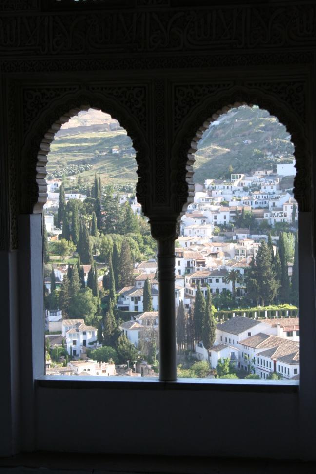 Granada vanuit het Alhambra