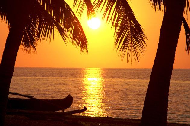 Ivaty zonsondergang