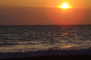 zonsondergang in bibbona