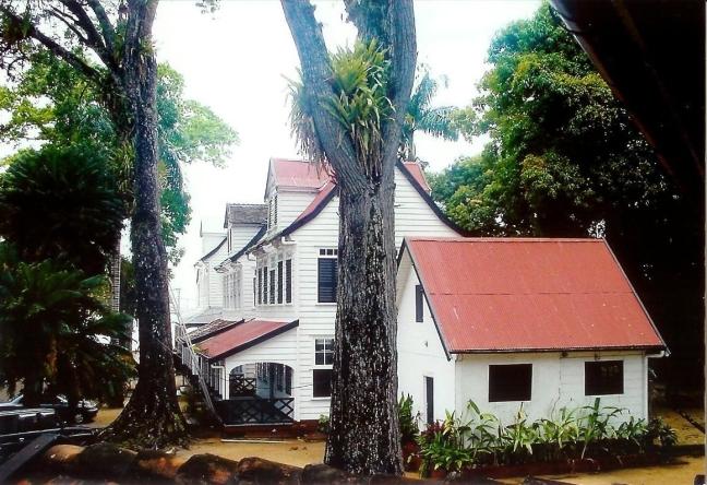 2001-2002 Fort Zeelandia in Paramaribo.