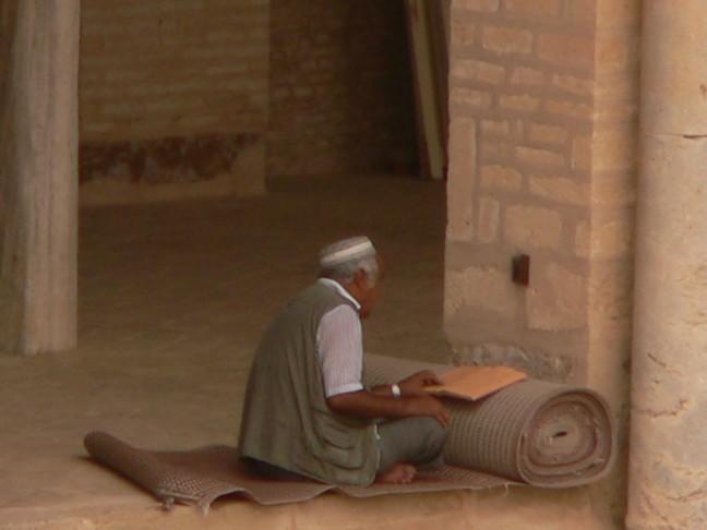Lezen in de Moskee