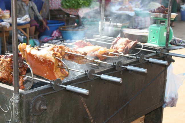 BBQ in Pakse