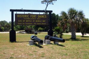 Intro foto Fort Gaines