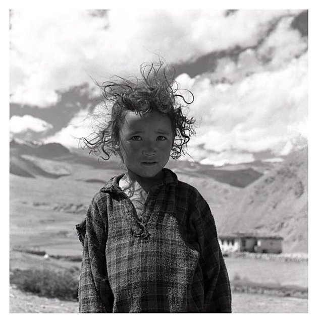 Meisje uit Ladakh