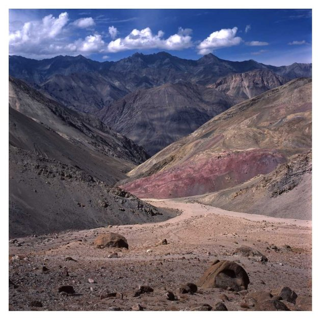 kleurrijk Ladakh