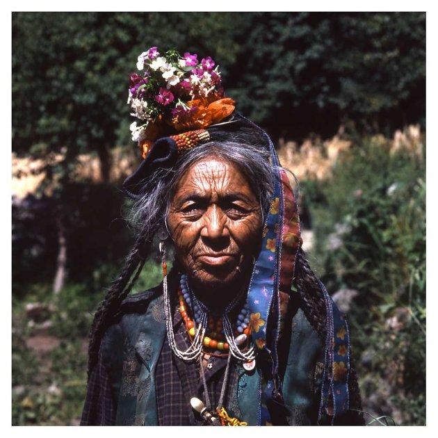 Een vrouw uit Dha Hanu