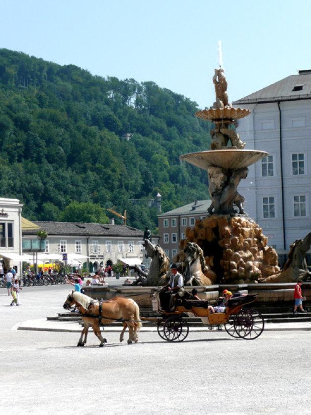 Stadsbeeld Salzburg