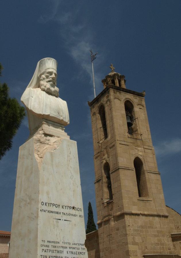 Nicosia, beeld Patriarch