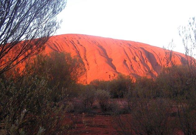 Zonsopkomst Uluru