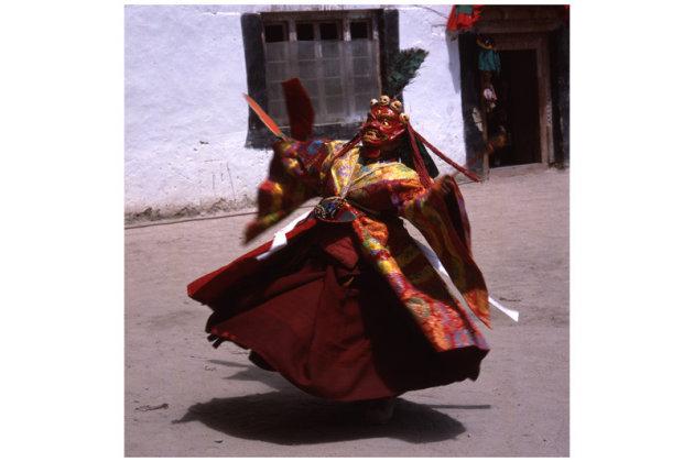 Dansende monnik