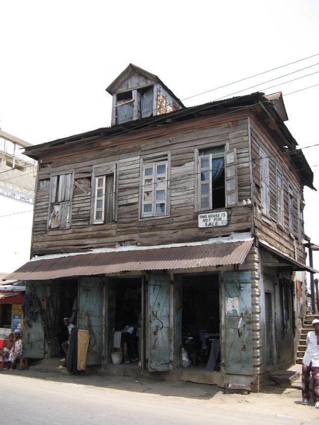 woning uit koloniaal tijdperk