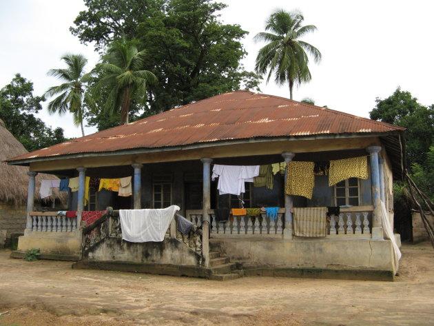 huisje in Kalangba