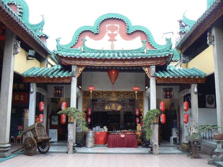 Chinatown KL, Sze Ya Tempel, sfeervolle chinese tempel