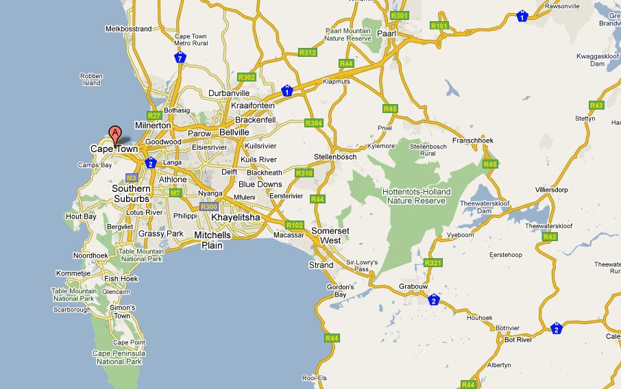 Kaapstad en de Kaap
