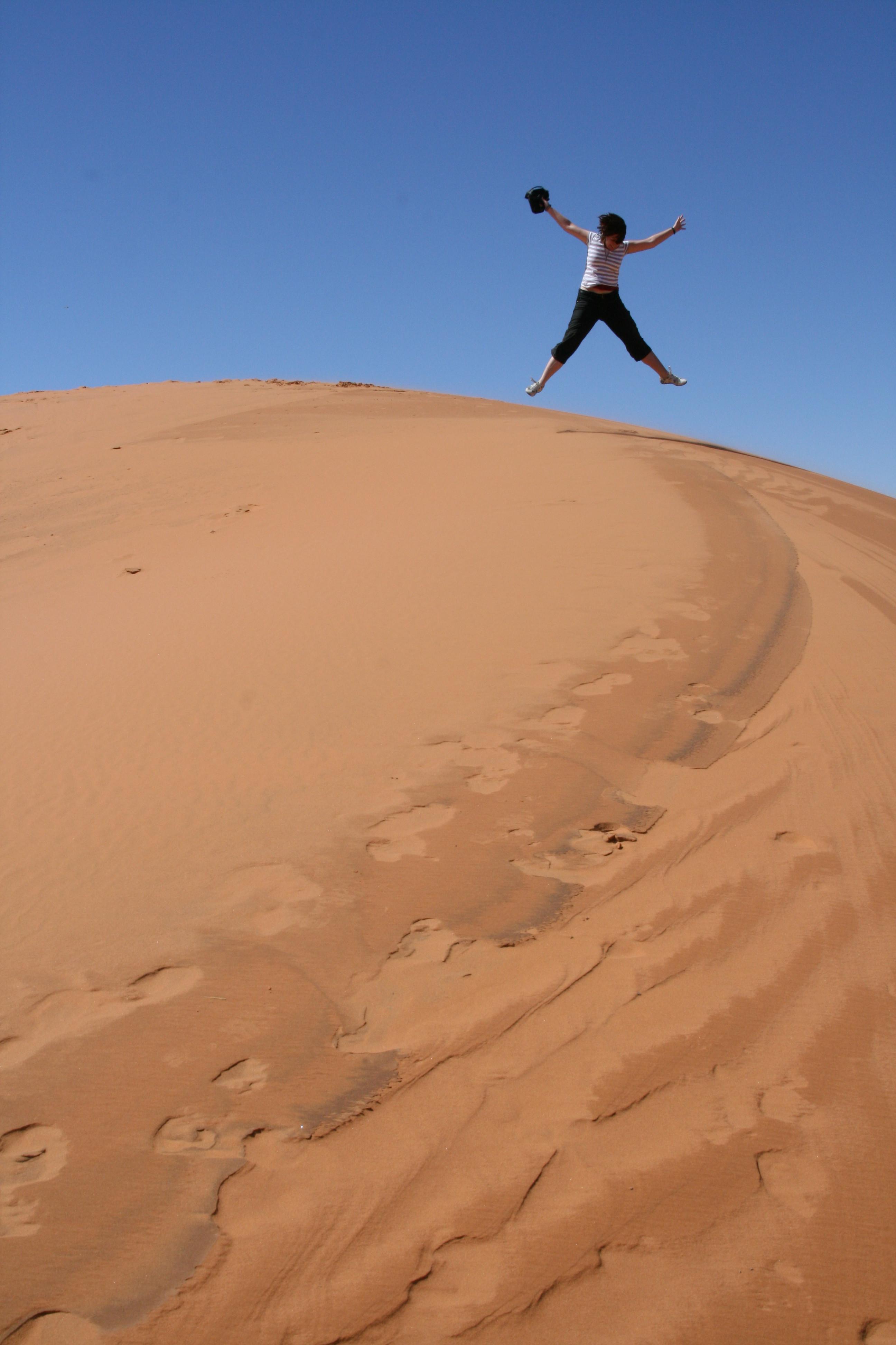 en nog meer zand, zand, zand, zand, zand