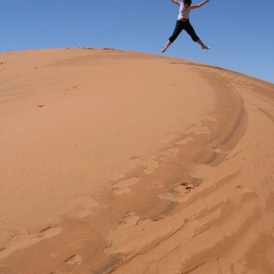 Voorvertoning en nog meer zand, zand, zand, zand, zand