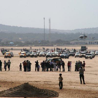 Voorvertoning De Rallye Gazelles des Aicha eindigt op het strand van Essaouira