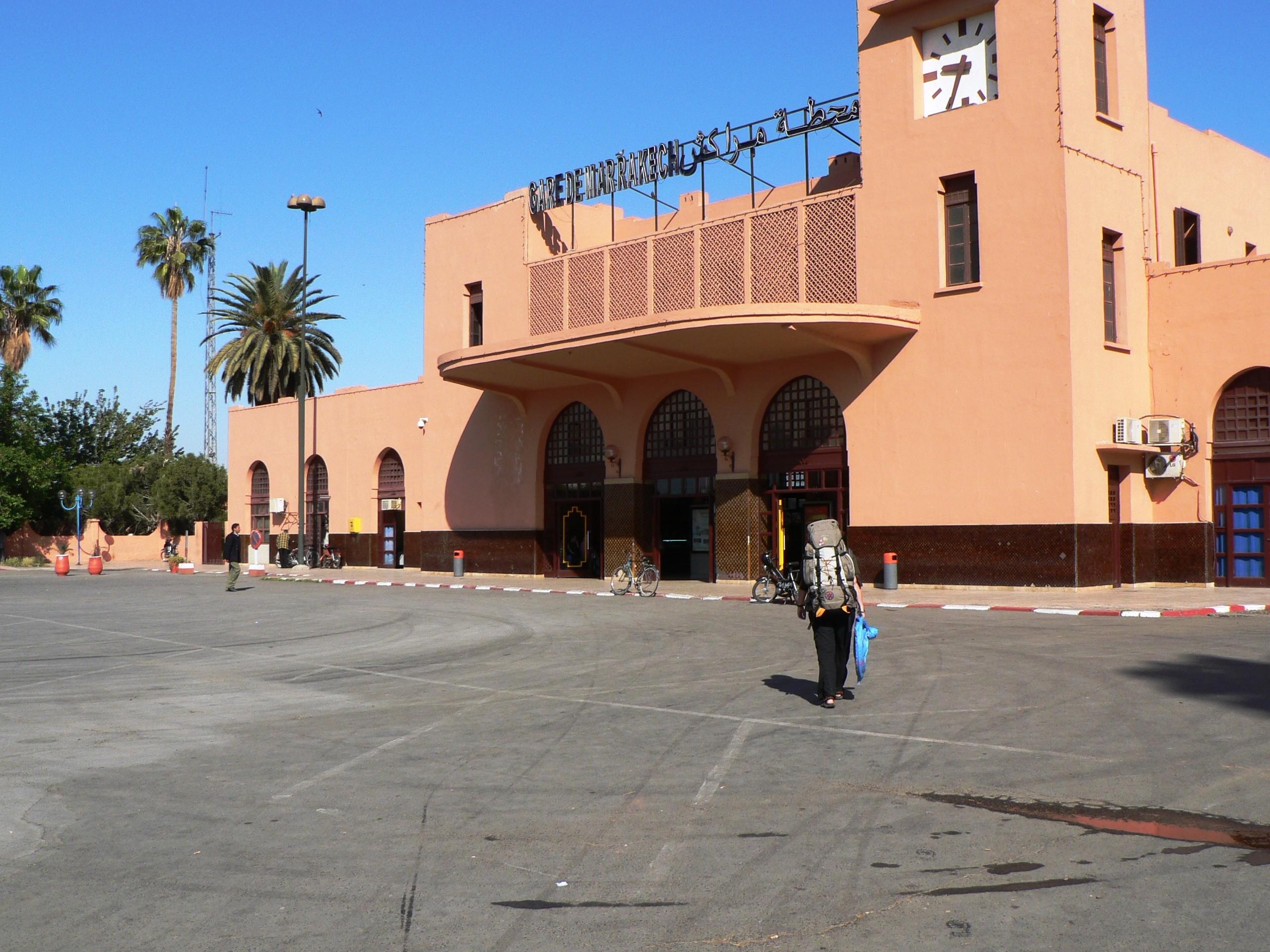 Met de trein naar Casablanca