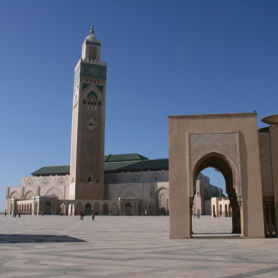 Voorvertoning De grote moskee in Casablanca