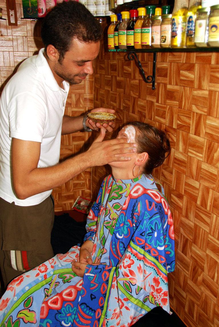 Hoofdfoto bij reisverhaal 'Gratis schoonheidsbehandeling'