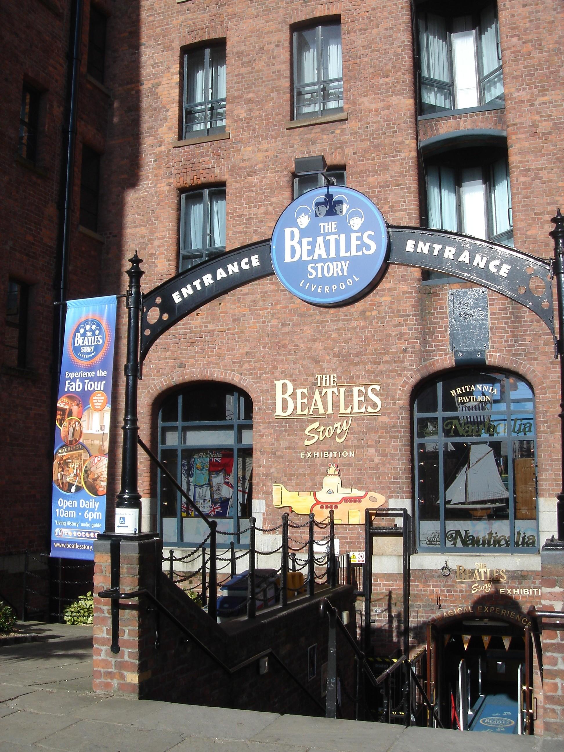 Beatle Museum in de Albert Docks