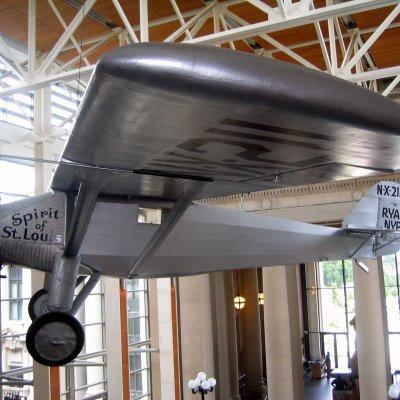 Voorvertoning Het vliegtuig van Charles Lindberg
