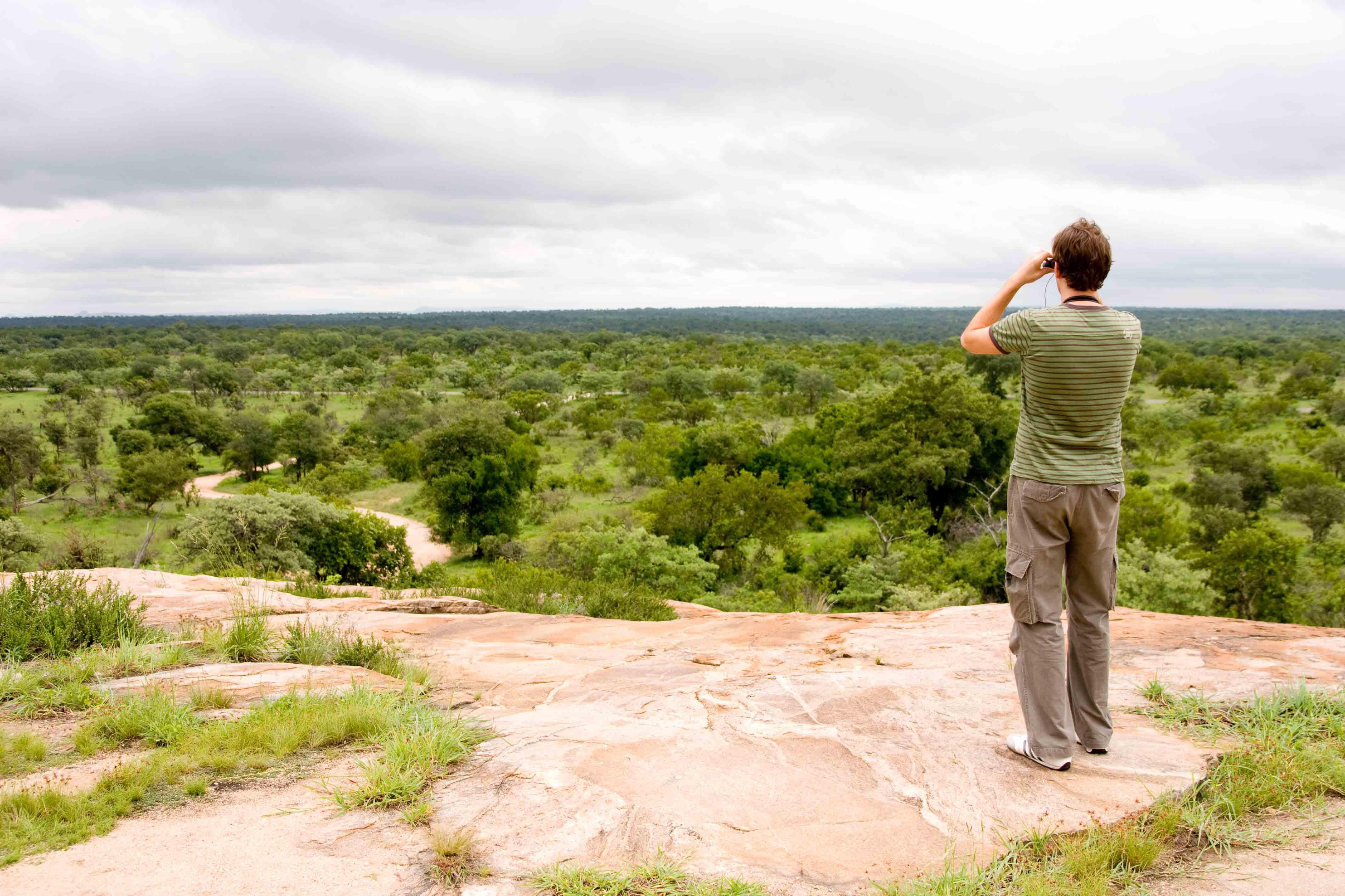 Op de uitkijk in Kruger