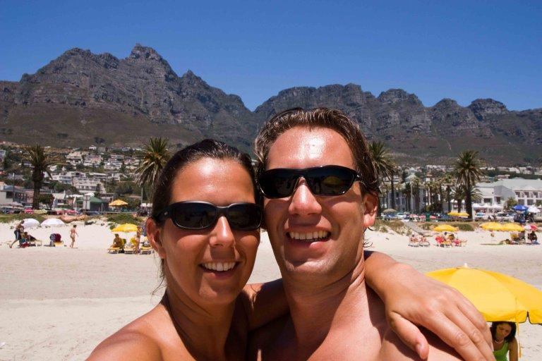 Groetjes vanuit een warm Kaapstad!!