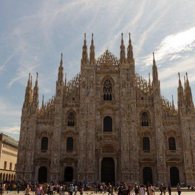 Voorvertoning De Dom van Milaan, zowel van buiten als van binnen én van boven een kunstwerk!