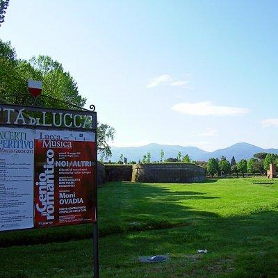 Voorvertoning stadswallen Lucca