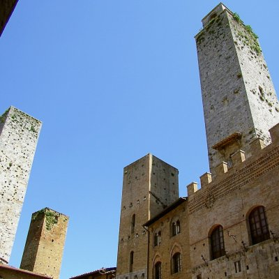 Voorvertoning torens San Gimignano