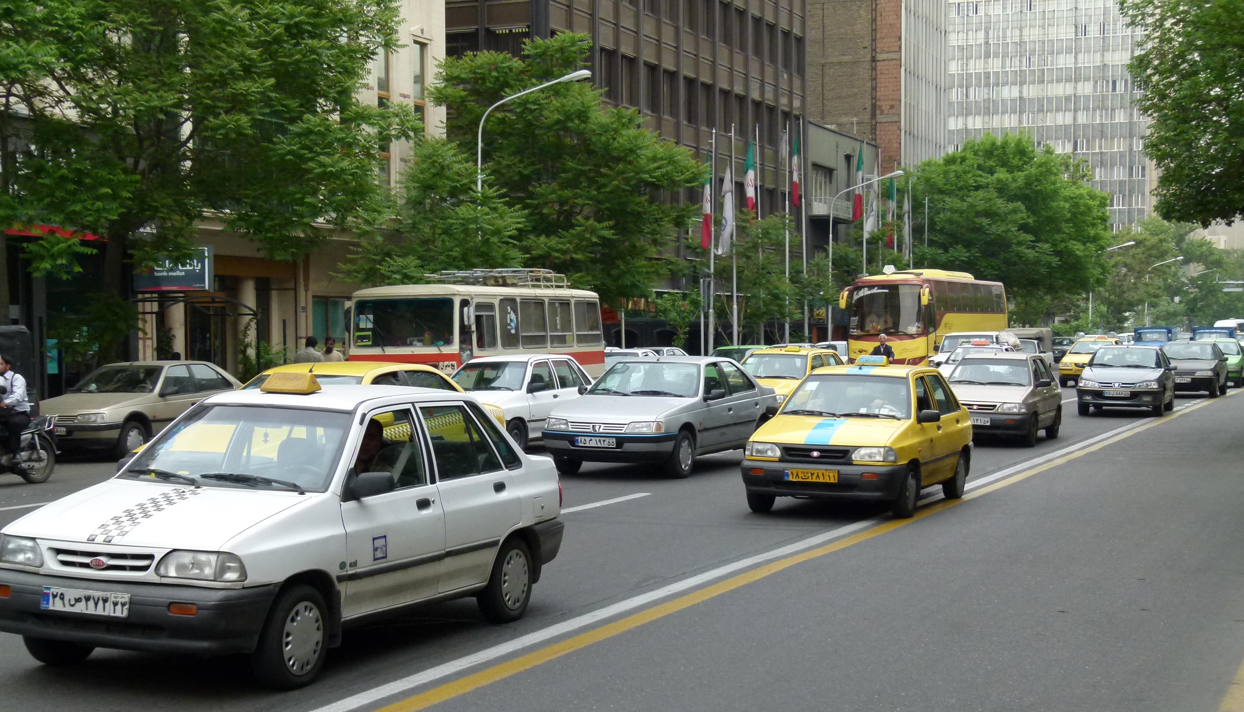 Taleqani Ave Teheran