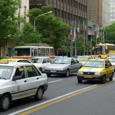 Voorvertoning Taleqani Ave Teheran