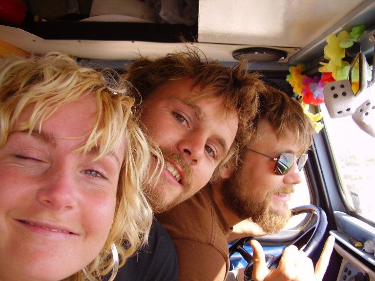 Manon bij ons in de bus