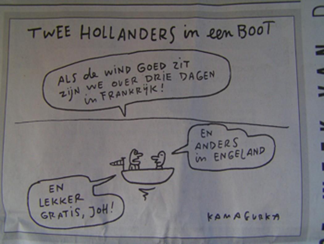 lekker gratis joh...  Toen vanwege de reacties van de hollanders op de belgische plannen voor een vignet voor gebruik van de snelwegen.