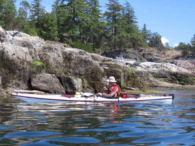 Hoofdfoto bij reisverhaal 'Zeekajakken in de Cope Island Marine Provincial Park, BC Canada'