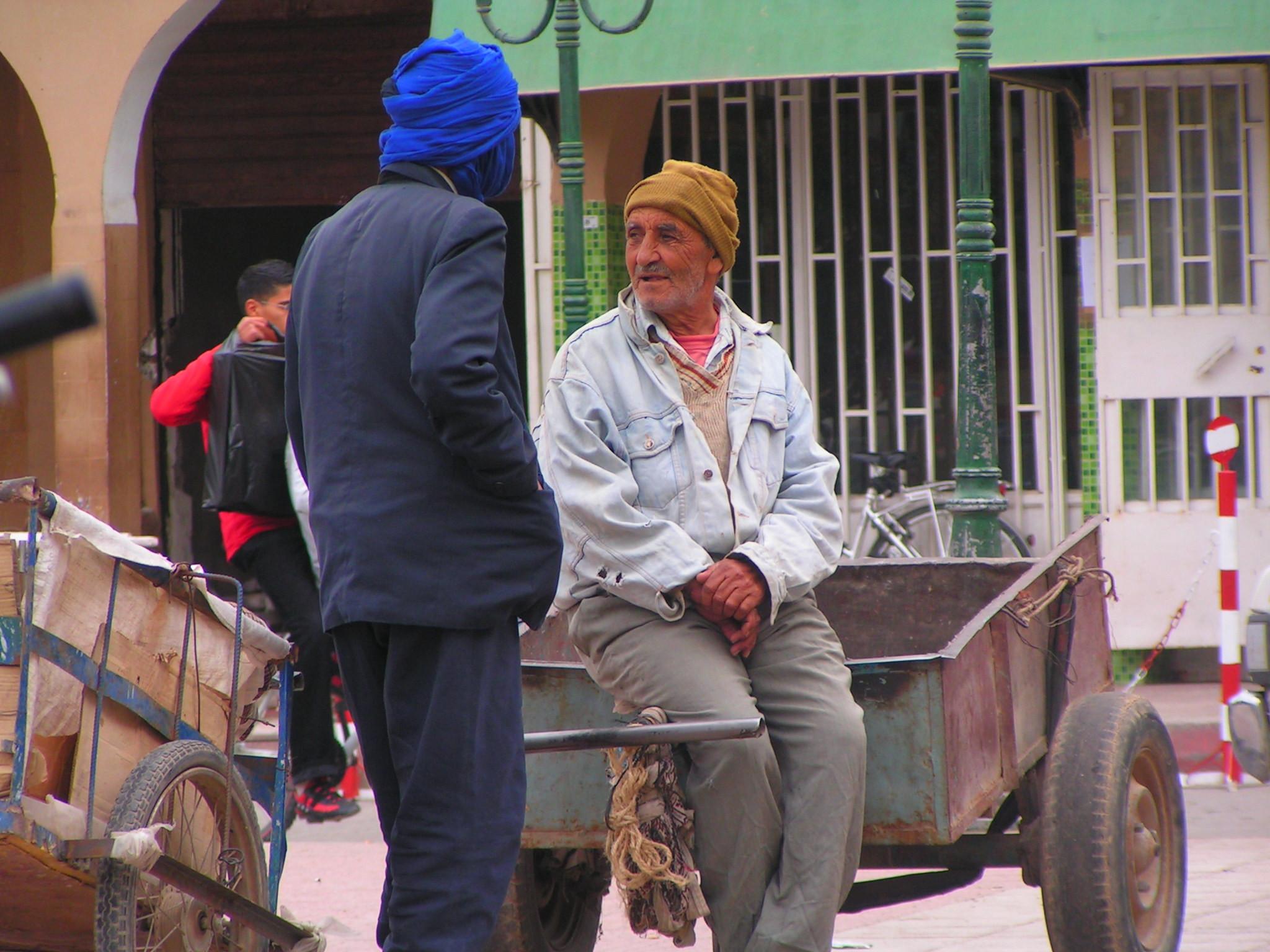 Verkleed als locals in Taroudannt