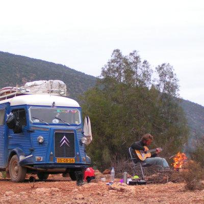 Voorvertoning camperen langs de piste
