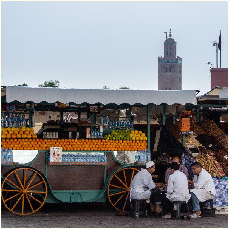 Djamaa El-Fna, Marrakech
