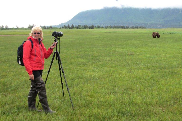 Van heel dichtbij zie je heel veel beren in Katmai National Park.