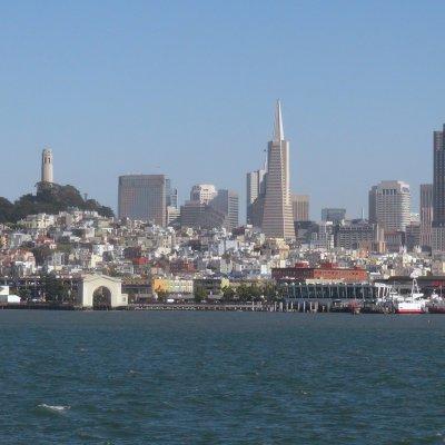 Voorvertoning Uitzicht op San Francisco vanaf Alcatraz