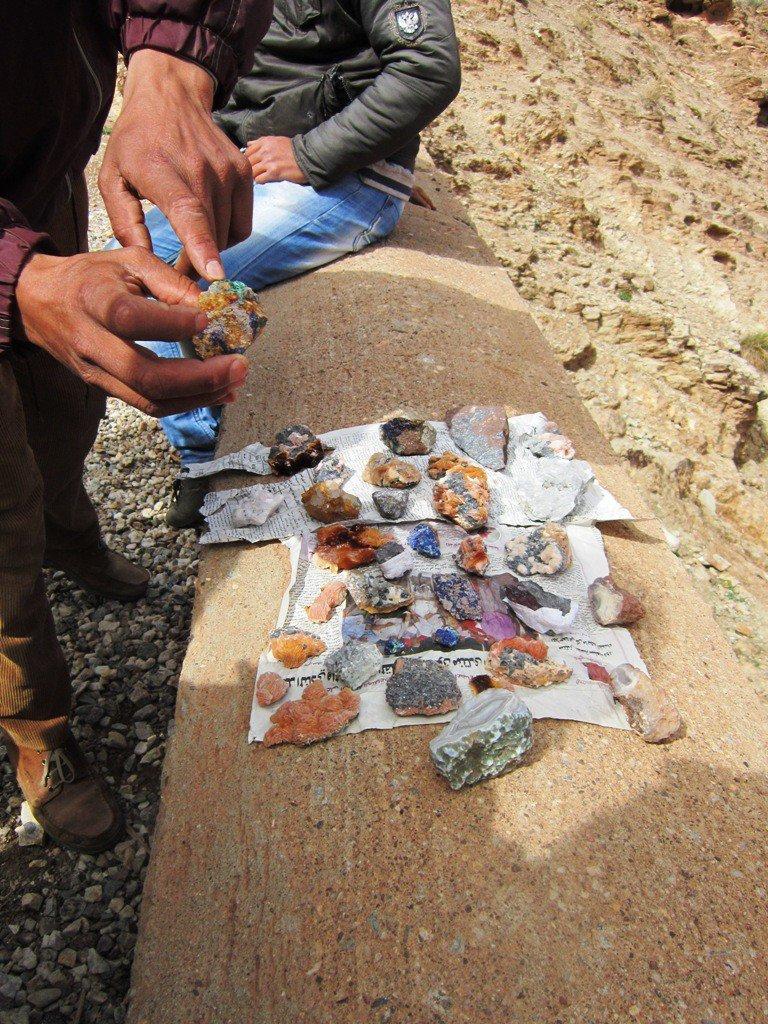 De gevonden schatten die onderweg te koop werden aangeboden