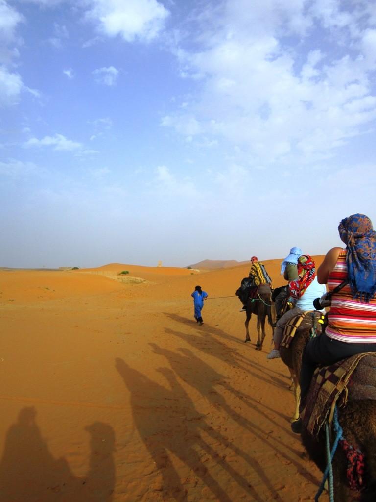 Prachtige indrukwekkende kamelentocht Erg Chebbi xxx