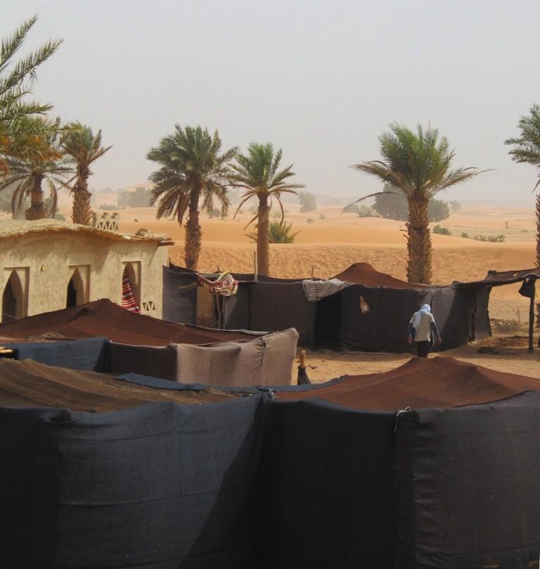Mooi tentenkamp
