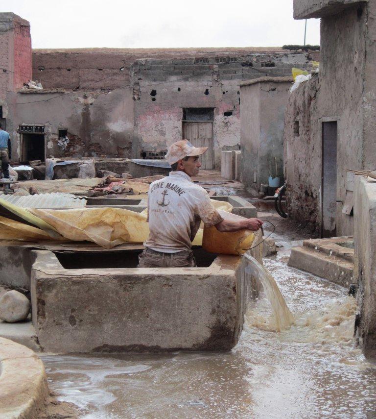 Hoofdfoto bij reisverhaal 'Trektocht door Marokko. Dag 18, Marrakech.'