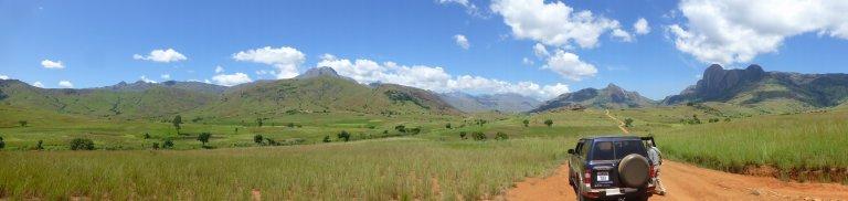 Entree Tsaranoro vallei